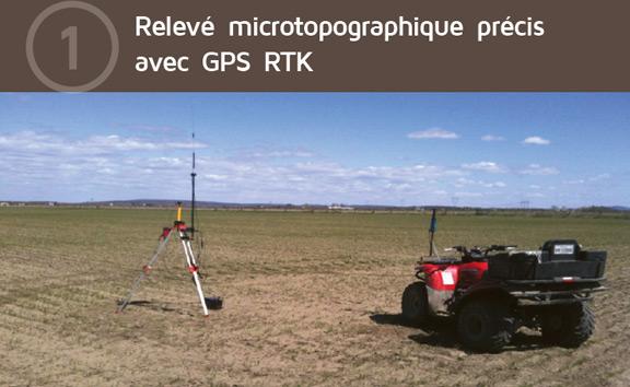 Relevé Microtopographique précis avec GPS RTK
